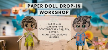 Paper Doll Drop-in Workshop