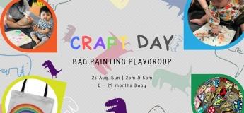 TinyDinos - Bag Painting PlayGroup