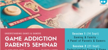 Parents Seminar – Understanding Gamers, Games and Game Addiction