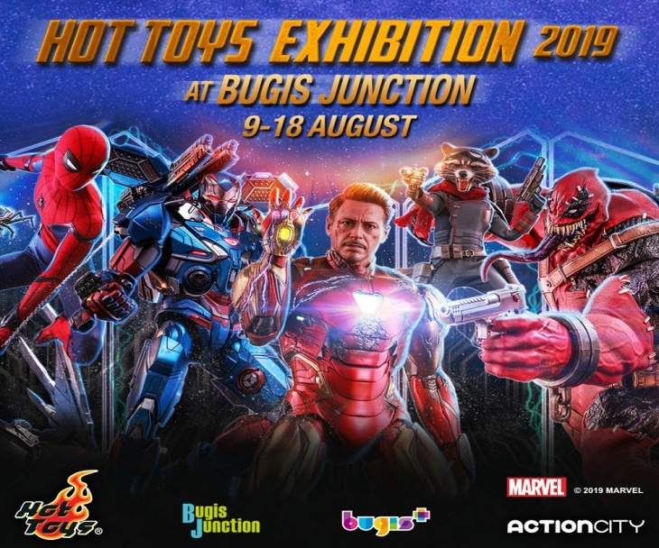 Hot Toys Exhibition 2019 by ActionCity