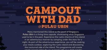 Campout With Dad@Pulau Ubin