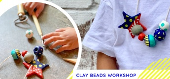 Happy Beads (Clay Beads) Art Workshop