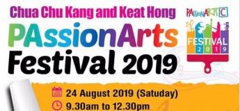 Chua Chu Kang and Keat Hong PAssionArts Festival 2019