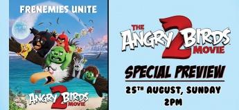 Family Movie Day: Angry Birds Movie 2