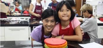 CC Junior! Rainbow Cake (Parent-Child Workshop)