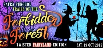 SAFRA Punggol Trails Of The Forbidden Forest – Twisted Fairyland Edition