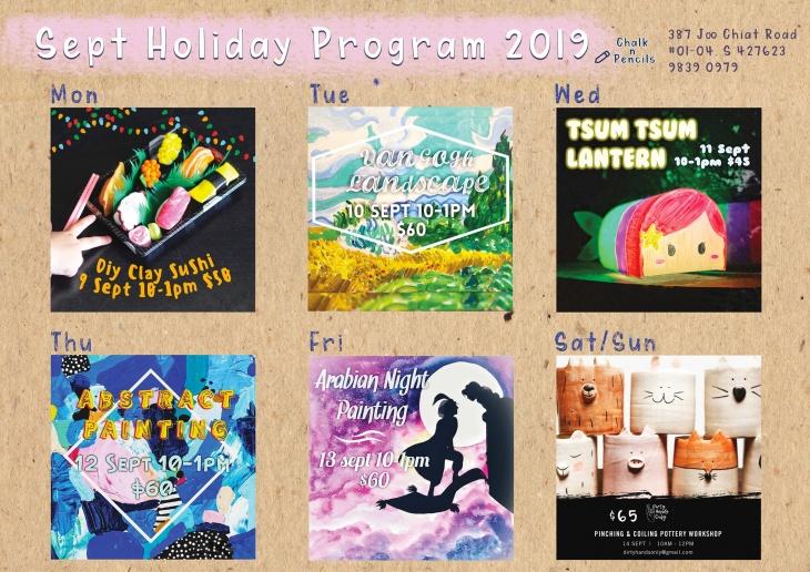 Sept Holiday Program