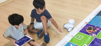 Coding for Preschoolers: Patterns with Photon