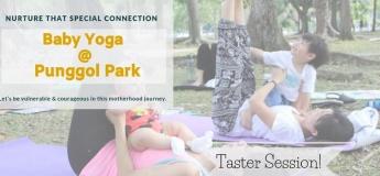 Baby Yoga at Punggol Park by mama Hui Yun