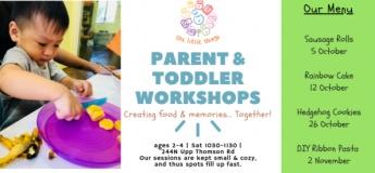 Parent & Toddler: Sausage Rolls