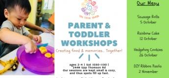 Parent & Toddler: Rainbow Mini Cakes