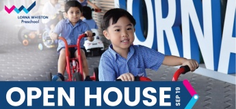Lorna Whiston Kallang Wave Preschool Open House