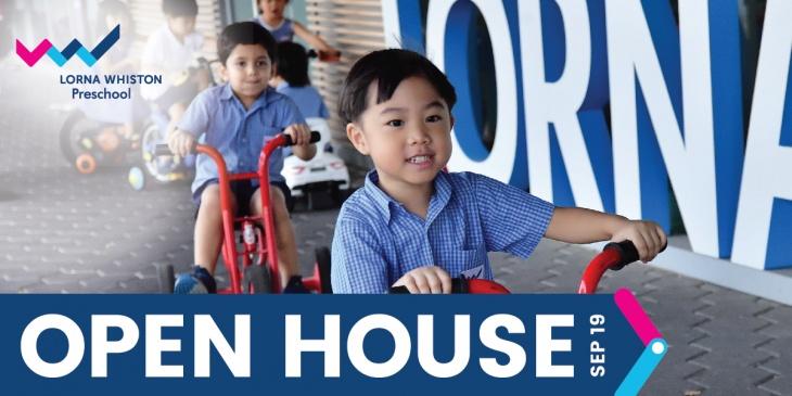 Lorna Whiston Kallang Wave Preschool Open House