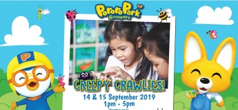 Creepy Crawlies Exhibition by Young Nautilus