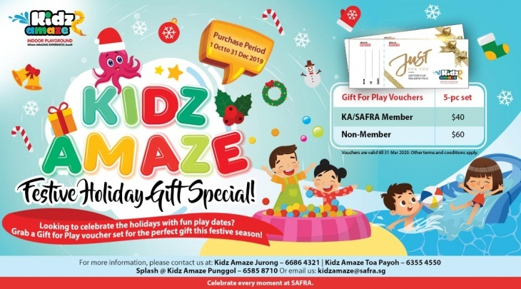Kidz Amaze Gift for Play Promotion @ SAFRA Jurong