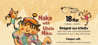 Make with Uncle Mike: Puppet-Making Camp
