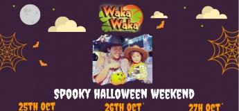 Spooky Halloween Weekend @ Waka Waka