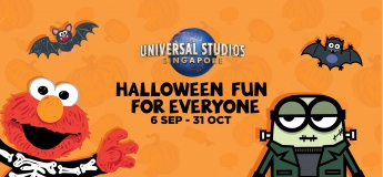 Halloween Fun For Everyone @ Universal Studios Singapore