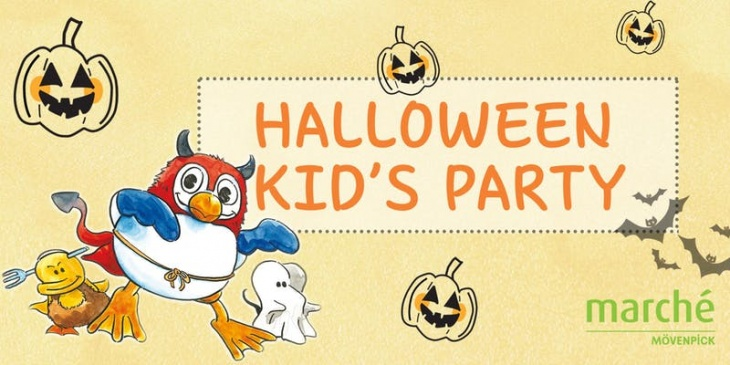 (FULL) Marché Mövenpick Halloween Kids Party
