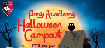 Pony Academy Halloween Camp-Out