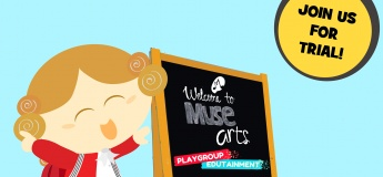 Muse Arts' 2-Hours Playgroup EduTainment Class @ Kaki Bukit