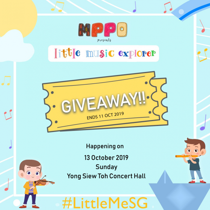 Little Music Explorer Tickets Giveaway