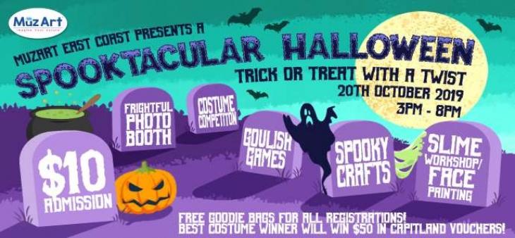Spooktacular Halloween Party @ MuzArt East Coast