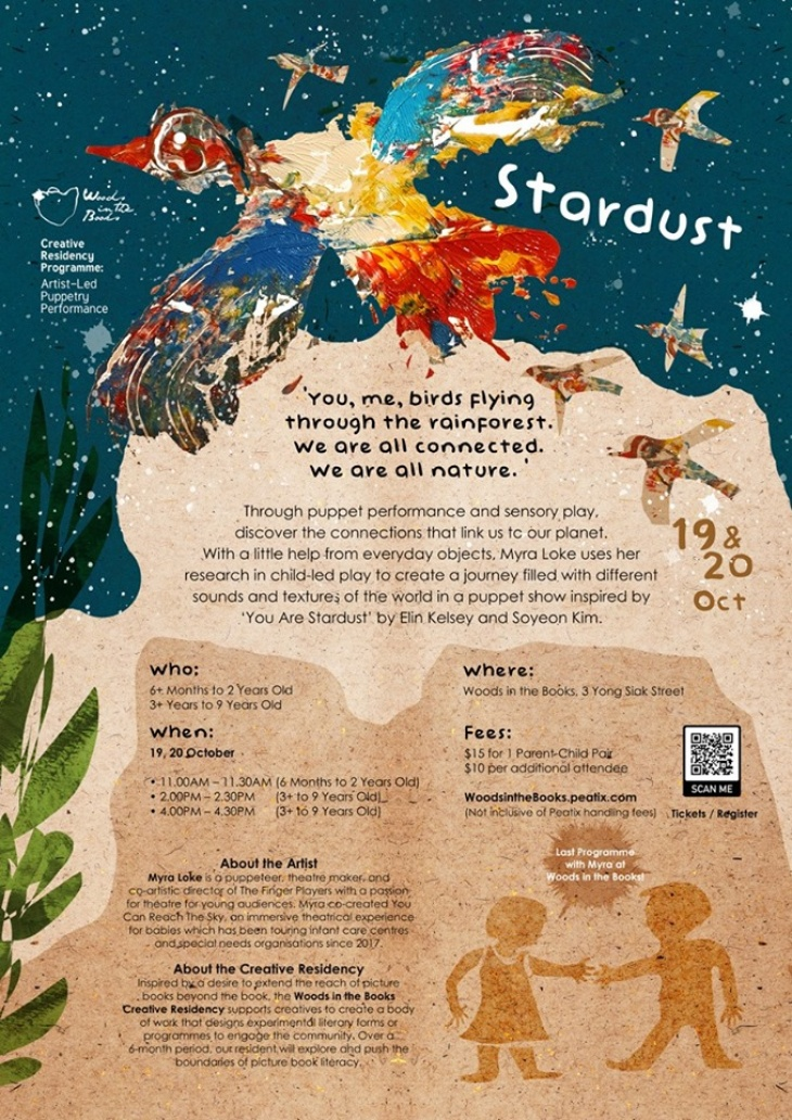 Puppetry Performance: Stardust