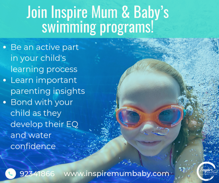 (Suspended) Inspire Mum & Baby Swimming Programs