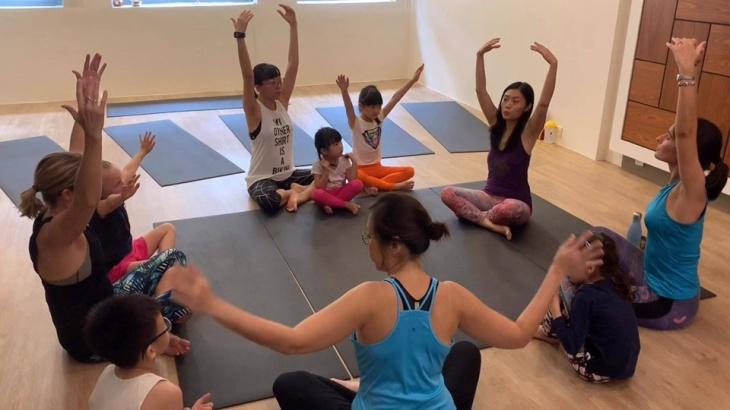 Family Yoga - October Edition!