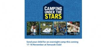 Camping under the Stars@Temasek Club