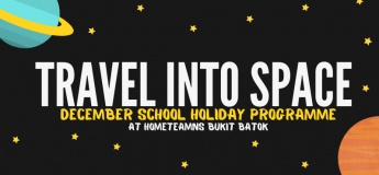 Travel Into Space December School Holiday Programme