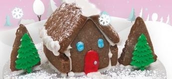 [Junior Gourmet] Mini Chocolate House Cookies