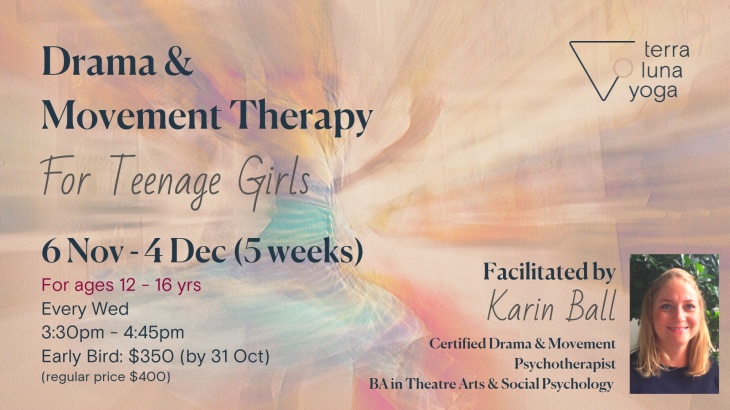 Drama & Movement Therapy for Teenage Girls
