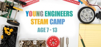 Young Engineers STEAM School Holiday Winter Camp December 2019 For Age 7 to 13