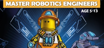Master Robotics Engineers Lego Robotics Coding Winter STEM Workshop School Holiday November to December 2019 For Age 5 to 13