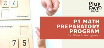 P1 Math Preparatory Program