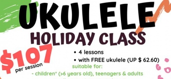 Ukulele Holiday Class
