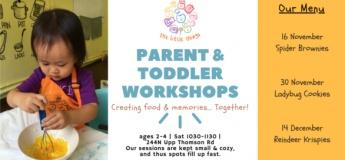 Parent & Toddler – Spider Brownies