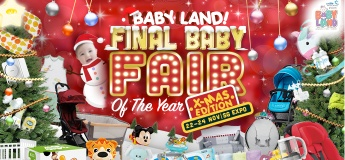 Baby Land Fair 22 to 24 Nov 2019 at Singapore Expo
