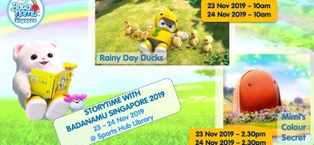 Storytime with Badanamu Singapore 2019 (Discounted Tickets)