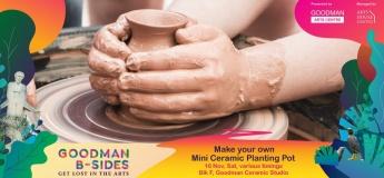 Make Your Own Mini Ceramic Planting Pot