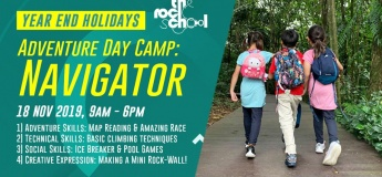 Year End Holidays Adventure Day Camps: Navigator & Campcraft
