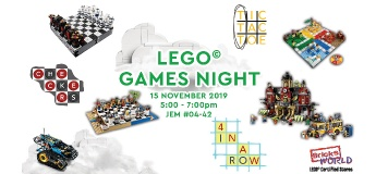 LEGO Certified Stores (Bricks World) Games Night