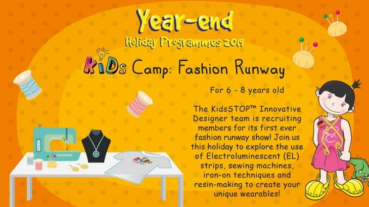 KIDs Camp Fashion Runway (6 to 8 years old)