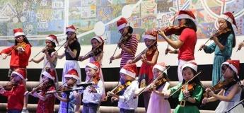 Christmas Performance by Edvox Music School @ Waterway Point