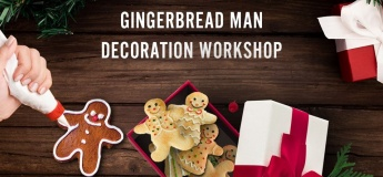 Gingerbread Man Decoration Workshop @ Marché Mövenpick