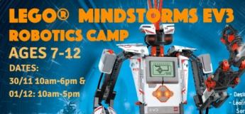Lego Mindstorms EV3 Robotics Holiday Camp