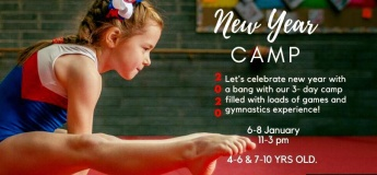 New Year Camp @ Bubbles Gymnastics