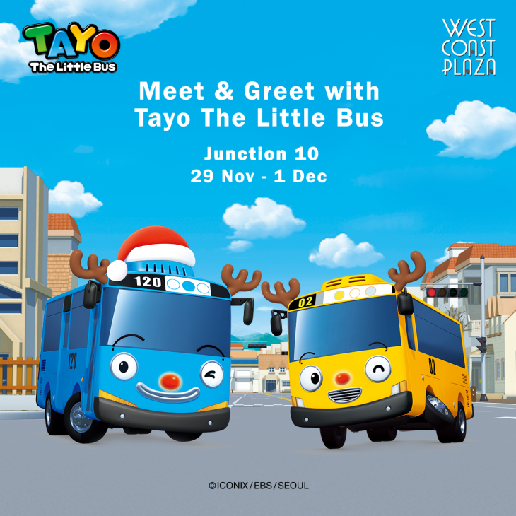 Tayo The Little Bus Meet and Greet @ Junction 10